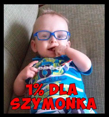 1% przekaż dla Szymona