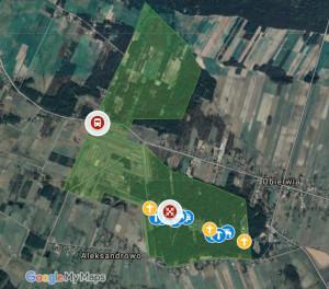 Aleksandrowo na Google Maps
