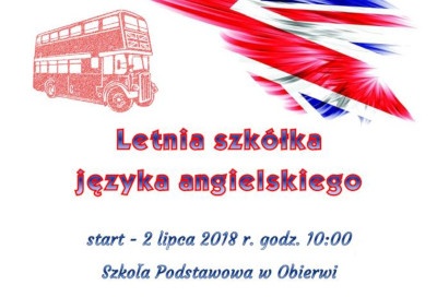 Bezpłatny kurs języka angielskiego w ObierwiZakończenie kursu języka angielskiego dla dzieci