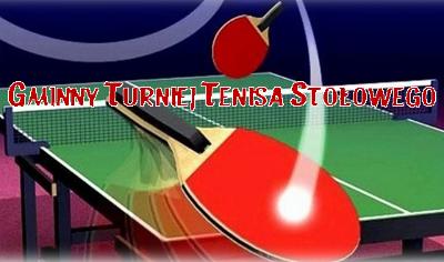 Turniej tenisa stołowego 2018 w Obierwi