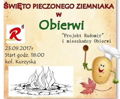 Święto pieczonego ziemniaka w Obierwi