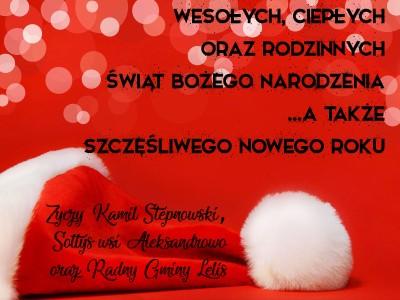 Wesołych Świat Bożego Narodzenia 2018