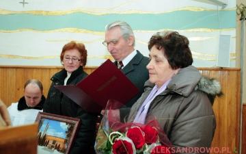 Ostatnia msza ks. Józefa Kuleszy w Obierwi jako proboszcza 26.02.2012
