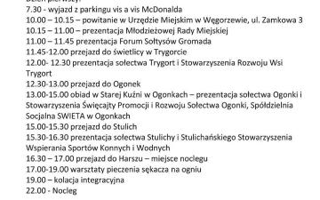 Wyjazd studyjny do gminy Węgorzewo 4-5.03.2019