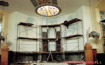 Malowanie kościoła 2015