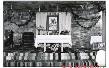 Msza w dolnym kościele