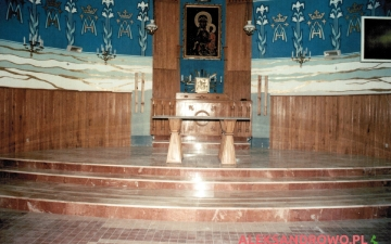 Wymiana posadzki na prezbiterium 2012